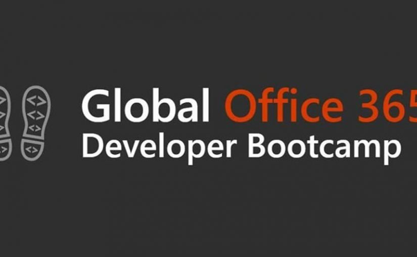 Office 365 Global Developer Bootcamp